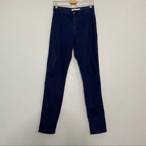 American Apparel Easy Jeans Super High Rise Indigo